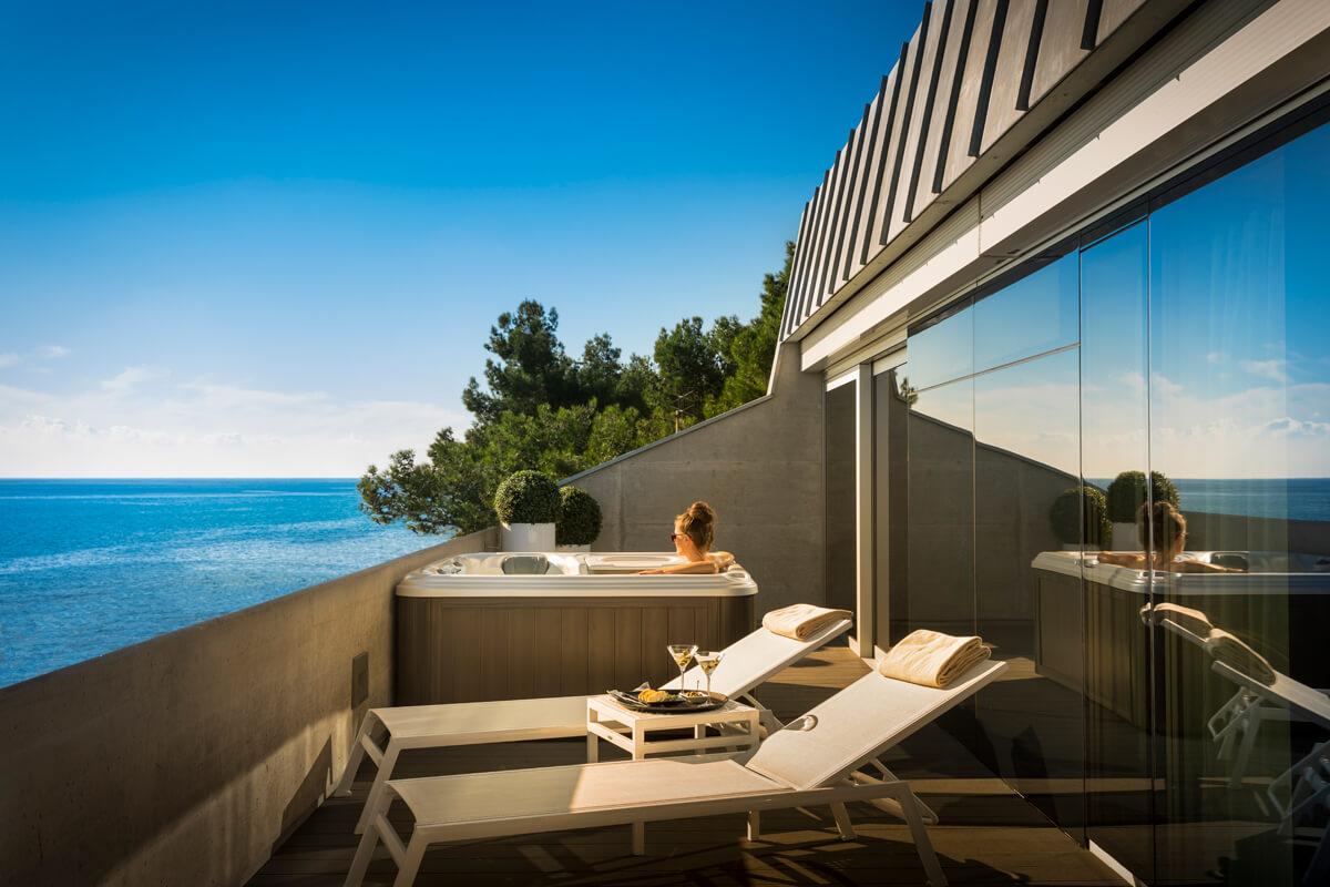 Rivalmare boutique hotel northistria for Design hotel liguria